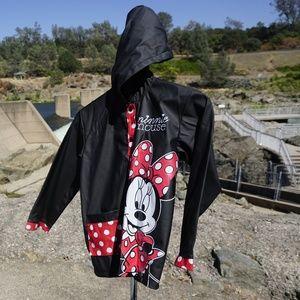 Like new girl's Disney minnie rain coast size S/M